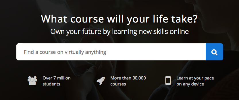 Researching your course idea on Udemy